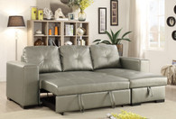 CONVERTIBLE SECTIONAL SILVER-F6919