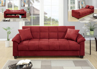 ADJUSTABLE SOFA RED-F7890
