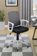 OFFICE CHAIR WHITE-F1634