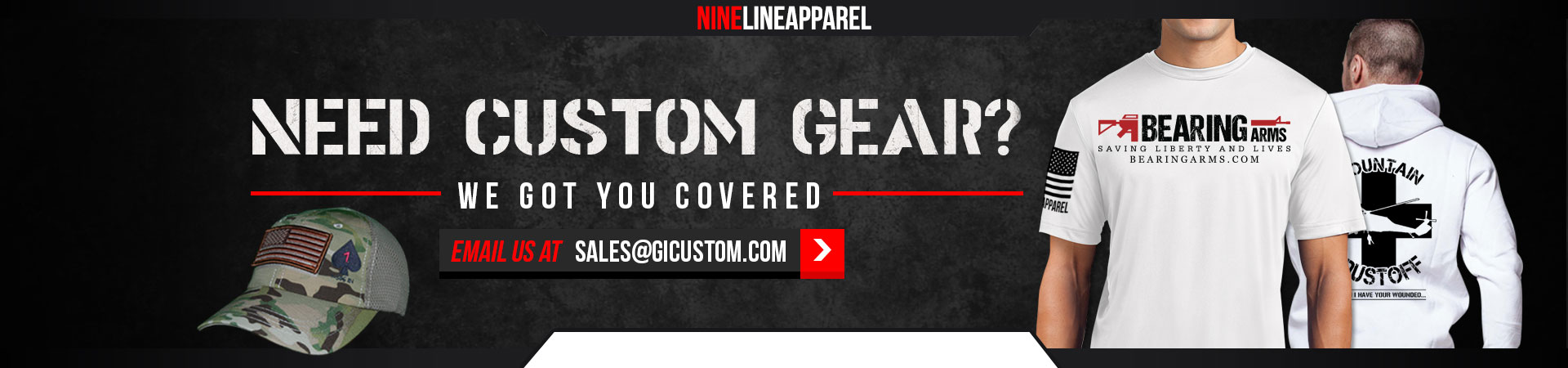 Click here if interested in creating a Custom T-shirt