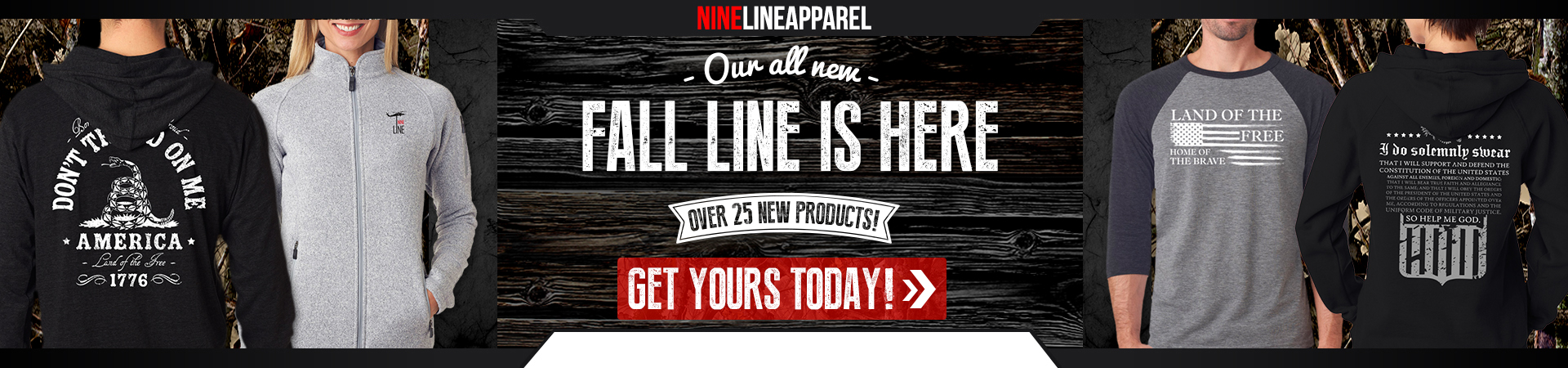 Fall Line is Here