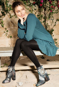 Loretta 111  Patterned Tights 50 Den
