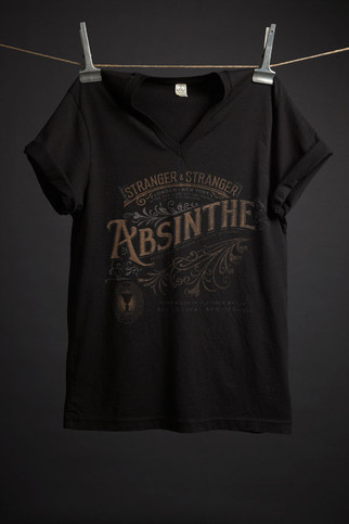 Absinthe T-Shirt - Stranger & Stranger