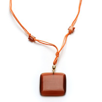Peach Daiquiri Necklace