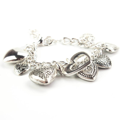 Full of Love Heart Charm Bracelet