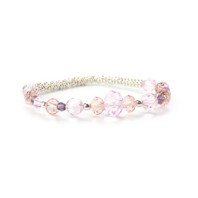 Dancing Crystals Stretch Bracelet