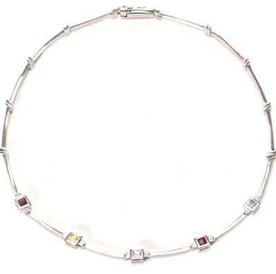 St. Croix Cubic Zirconia Necklace