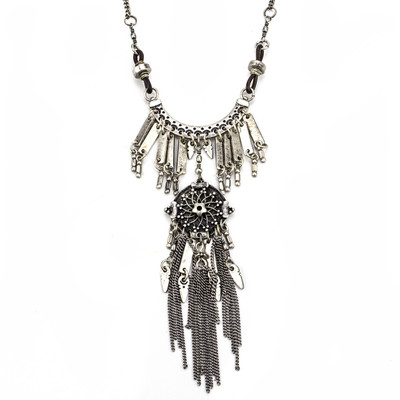 Rain Dance Tassel Necklace