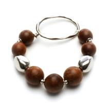 Silver Oak Bracelet