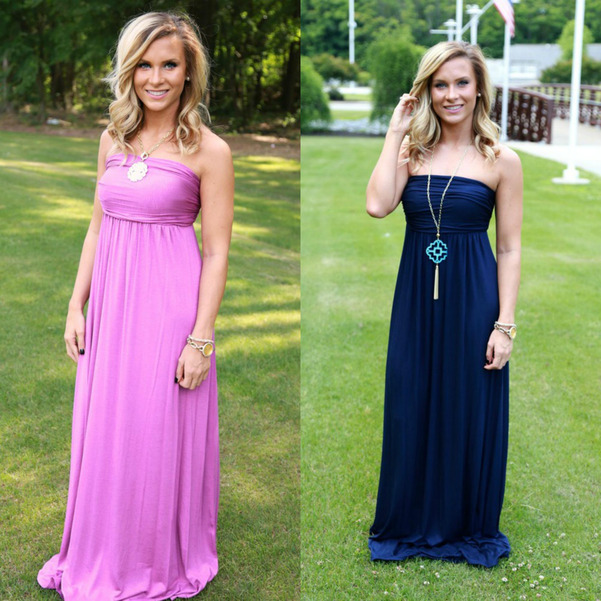 tube maxi dresses summer boutique maxi dress