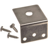Laird Technologies 3/8  Trunk Groove Bracket  Stainless Steel