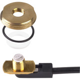 PCTEL Maxrad 0-1000 MHz  3/8-3/4  Hole Mount Only  Brass