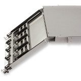Pretium EDGE Solutions Housing, 1 rack unit, holds 8 Pretium EDGE Solutions Modules or Panels.