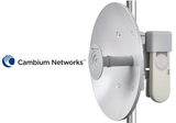 ePMP Force 100, 5GHz Connectorized Radio and 25 dBi Dish Antenna, ROW.