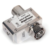PolyPhaser RF Coaxial Protector DIN Male to DIN Female