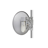 ePMP Force 110 PTP, 5GHz High Performance PTP Radio and 25 dBi Dish Antenna, RoW. EU power cord
