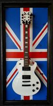 "G Frames ""Union Jack"" Guitar or Bass Display Case"