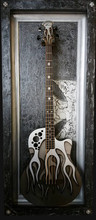 "G Frames ""The Maltese"" Guitar or Bass Display Frame or Case"