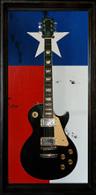 "G Frames ""The Texan"" Guitar or Bass Display Case"