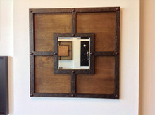 Decorative Double Framed Mirror
