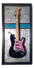 "G Frames ""Teal Steel"" Guitar or Bass Display Guitar"