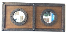Small Decorative Double Mirror