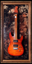 """G Frames """"Coppers Cove""""  Guitar or Bass Display Case"""