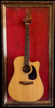 "G Frames ""Kerrville Red"" Guitar or Bass Display Frame or Case"