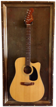 "G Frames ""Kerrville Brown"" Guitar or Bass Display Case"