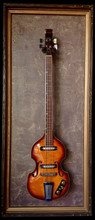 """G Frames """"Musicology"""" Guitar or Bass Display Cases"""