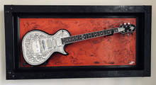 "G Frames ""Red Rock""  Guitar Display Frame or Case"