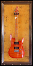 "G Frames ""Southern Rust"" Guitar or bass Display Case"