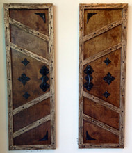 Wizard Wood Faux Shutter Doors