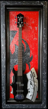 "G Frames ""The Demon""  Bass Display Case"