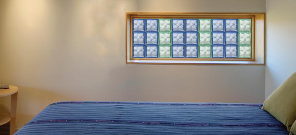 designer glass block