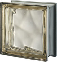 Pegasus Metalized Siena Glass Block