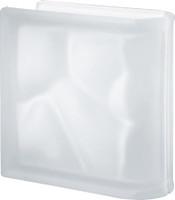 Pegasus Neutro End Linear Satin Glass Block