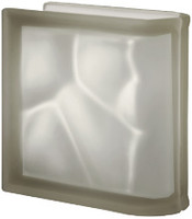 Pegasus Siena End Linear Satin Glass Block