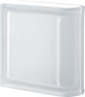 Pegasus Neutro End Linear Satin Transparent Glass Block