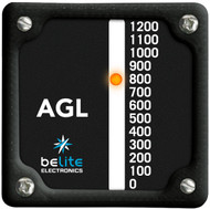 Above Ground Level Altimeter with square bezel