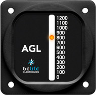 Above Ground Level Altimeter with round bezel