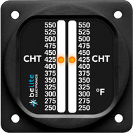 """Dual CHT with 2.25"""" round bezel"""