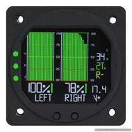 RADIANT DUAL OR SINGLE FUEL GAUGE for Capacitance Fuel Senders