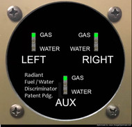Fuel/Water Discriminator Display Head