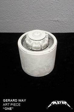 """Gerard Way """"One"""" landmine Sculpture Style 1"""