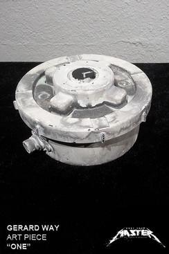 """Gerard Way """"One"""" landmine Sculpture Style 2"""