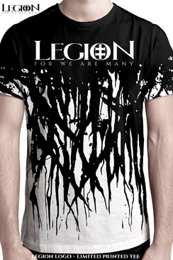 LEGION ORIGINAL ARTWORK BY RICHARD VILLA III.