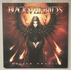 FALLEN ANGELS 30X30 GALLERY ARTIST PROOF ORIGINAL CANVAS PRINT