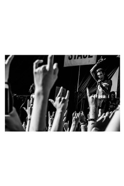 "BVB 8""X10"" PHOTO FROM WARPED TOUR 2015: ANDY6"