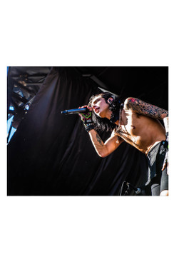 "BVB 8""X10"" PHOTO FROM WARPED TOUR 2015: ANDY8"